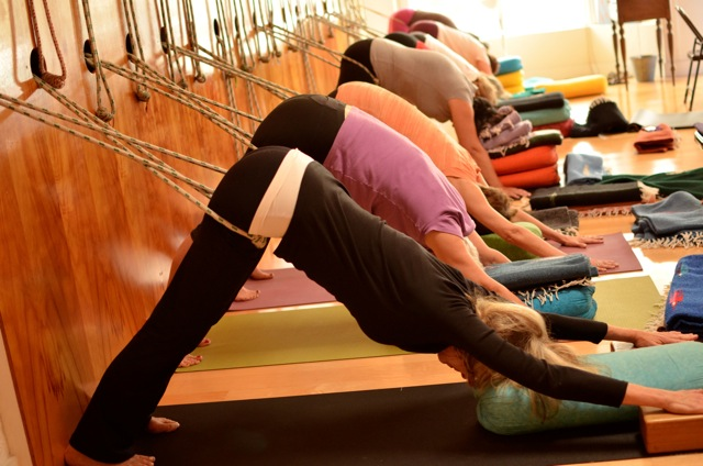 Ropes Class the second Saturday of each month at San Diego Yoga Studio