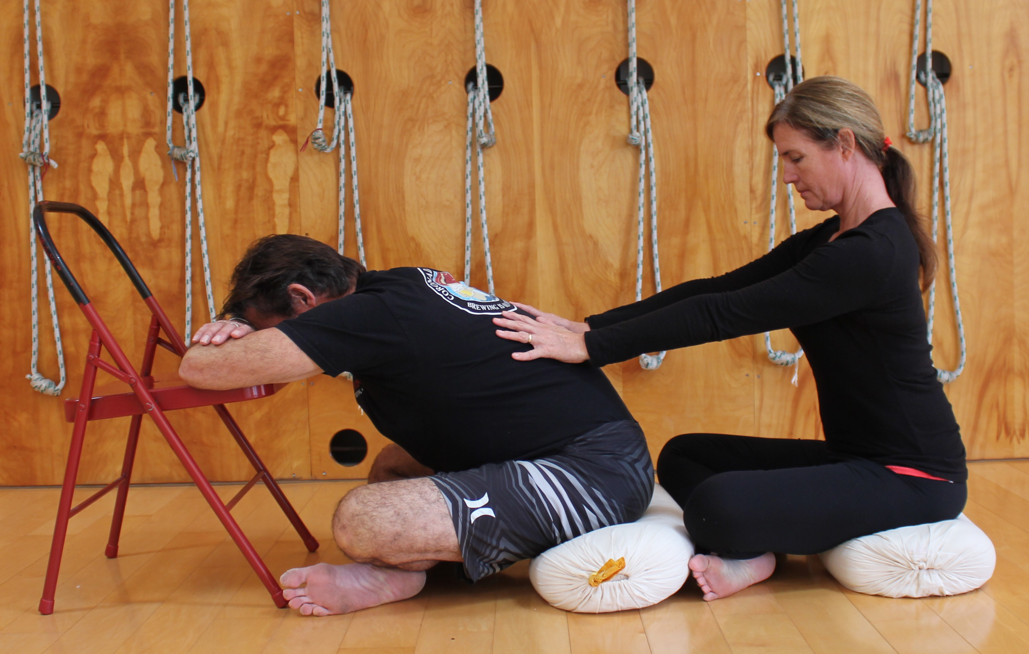 Kim & Russ Imlay teach Couples Date Night Classes in February at San Diego Yoga Studio