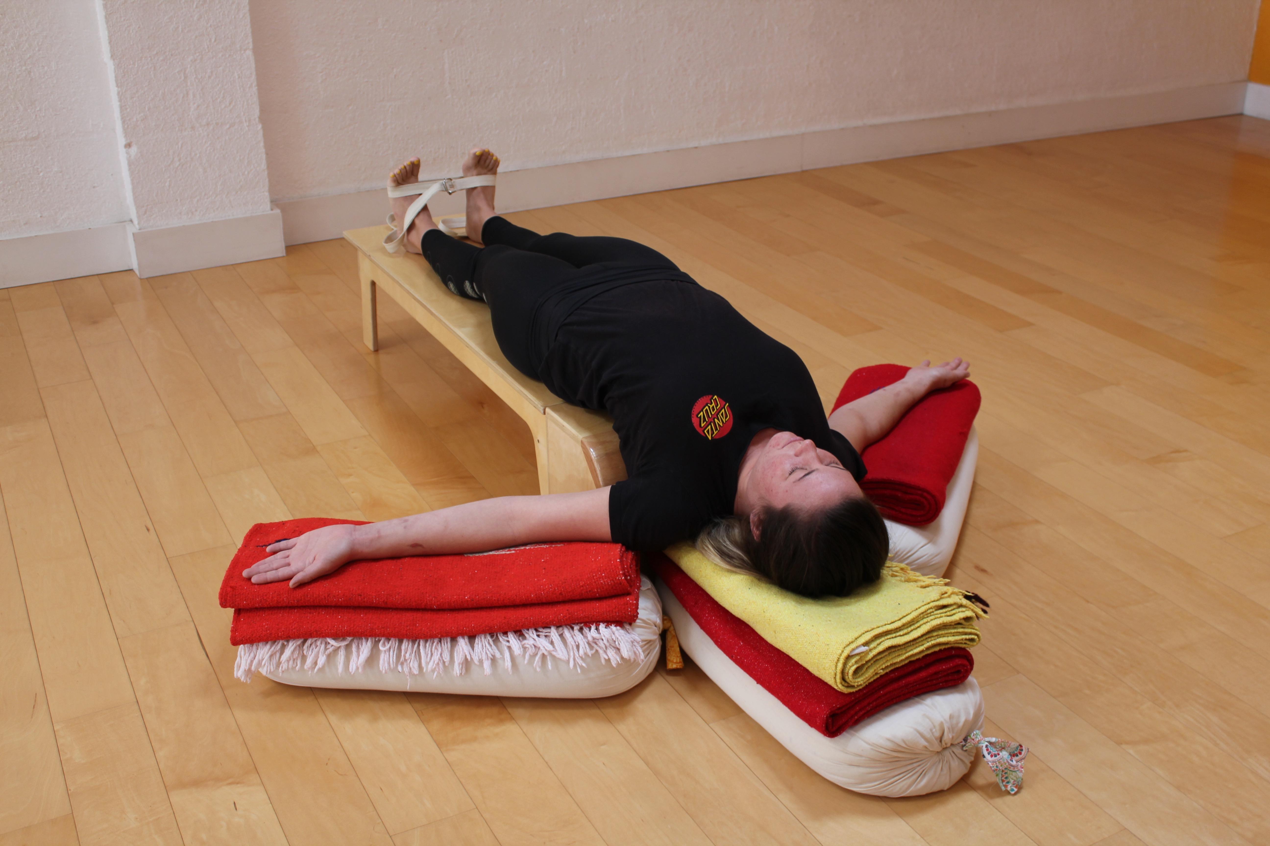 Restorative Series Yoga at San Diego Yoga Studio